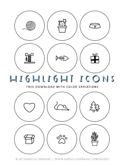 highlight icons